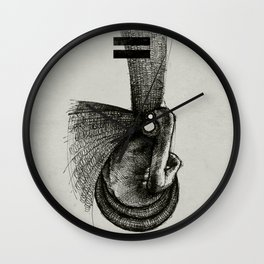 Pilgrim II. Wall Clock