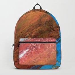Arizona Agate Slab Backpack