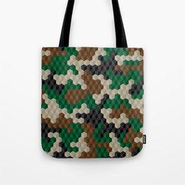CUBOUFLAGE Tote Bag