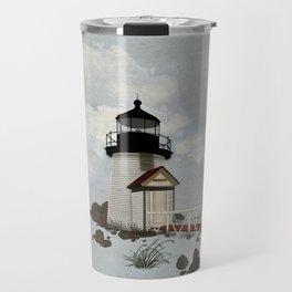 Brant Point Light Travel Mug
