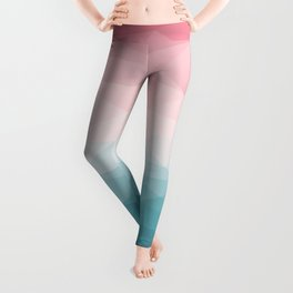 The Colorful Low Poly I Leggings