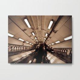 Underground. Metal Print
