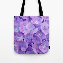 Hydrangea lilac Tote Bag