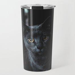 Cat by allison christine Travel Mug