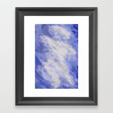 Cloudy DPA170103a Framed Art Print