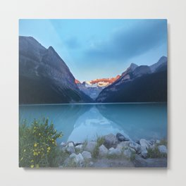 Mountains lake Metal Print