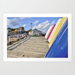 Broadstairs Slipway Art Print