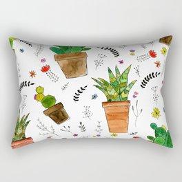 Houzz Plants Rectangular Pillow