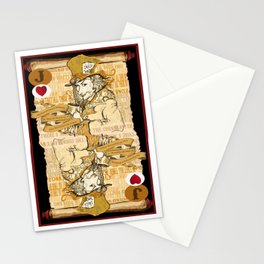 'Mad Hatter' (Alice in Steampunk Series) Stationery Cards