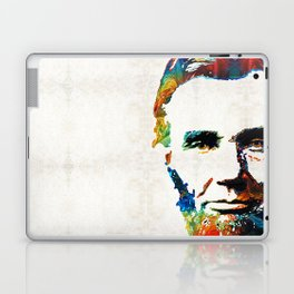 Abraham Lincoln Art - Colorful Abe - By Sharon Cummings Laptop & iPad Skin