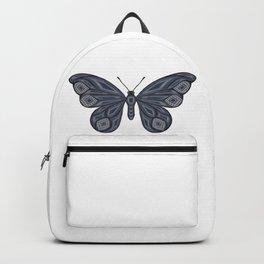 Denim butterfly Backpack