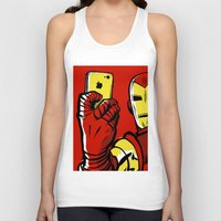 stark Tank Tops featuring Stark #Selfie by Butcher Billy