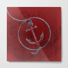 Anchor Aweigh ! Metal Print