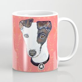 Greyhound Portrait Coffee Mug