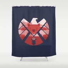 The Captain (SHIELD) Shower Curtain