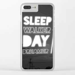 Day dreamer Clear iPhone Case