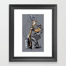 Take a knee to the Arrow ... Framed Art Print