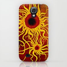 Psychedelic Susan 001, Sunflowers Slim Case Galaxy S4