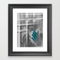 White Noise - Variant III Framed Art Print