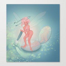Compact Fairy Canvas Print