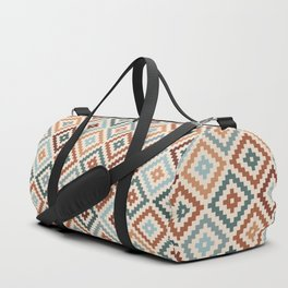 Aztec Block Symbol Ptn TCT Duffle Bag