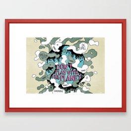 PLANISFEAR Framed Art Print