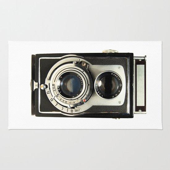 Vintage Camera Rug
