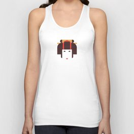 Japan Noble Woman Unisex Tank Top