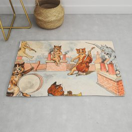CATS ORCHESTRA - Louis Wain Cats Rug
