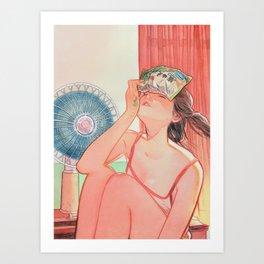 PEEK005 Art Print