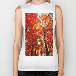Sun in the Trees Biker Tank