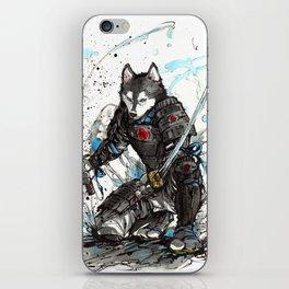 Year of the Dog...Samurai! iPhone Skin