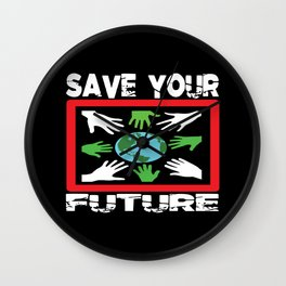 Environment Environmentalist Nature Conservation Wall Clock