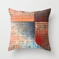 soldier Throw Pillows featuring Lead Soldier by Fernando Vieira