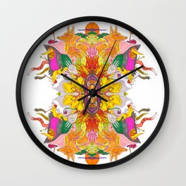 Free Psych and Mirrors - Antonio Feliz Wall Clock