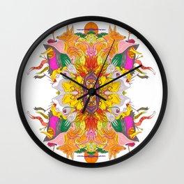 Free Psych and Mirrors - Antonio Feliz Wall Clock