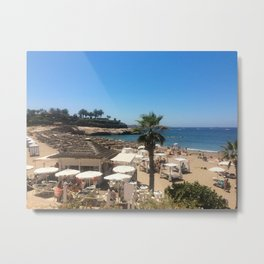 Playa del Duque beach Metal Print