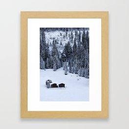 Schanfigg GR Langweis Framed Art Print
