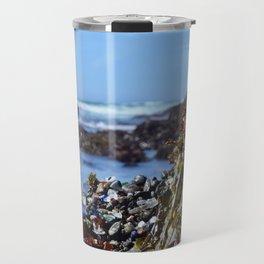 seaweed and glass Travel Mug