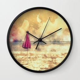 Echo Beach Wall Clock