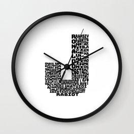 JUVE - J - 2019 - 2020 Wall Clock