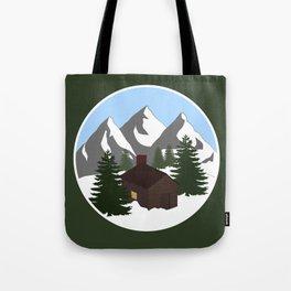 Cozy Cottage Tote Bag