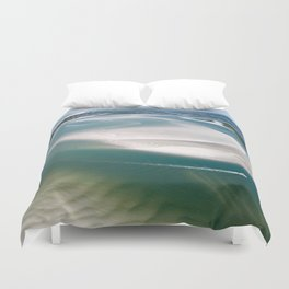 Rich's Inlet at the North End of Figure 8 Island | Wilmington NC Duvet Cover