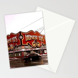Honest Ed's before it came down Stationery Cards