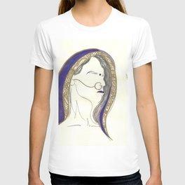 Blue Lady T-shirt