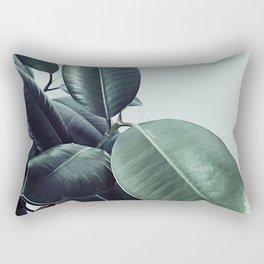 Ficus Elastica #22 #LightGreen #foliage #decor #art #society6 Rectangular Pillow