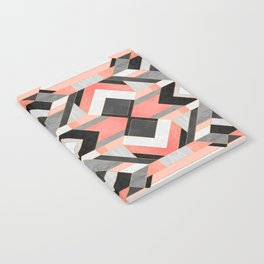 Peach Deco 1 Notebook