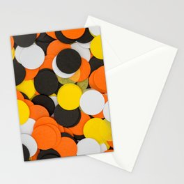 Halloween Party Confetti Stationery Cards