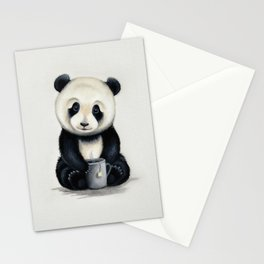 Tea Panda Stationery Cards