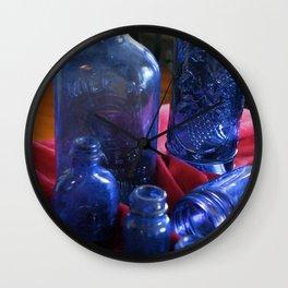 BlueGlass Wall Clock